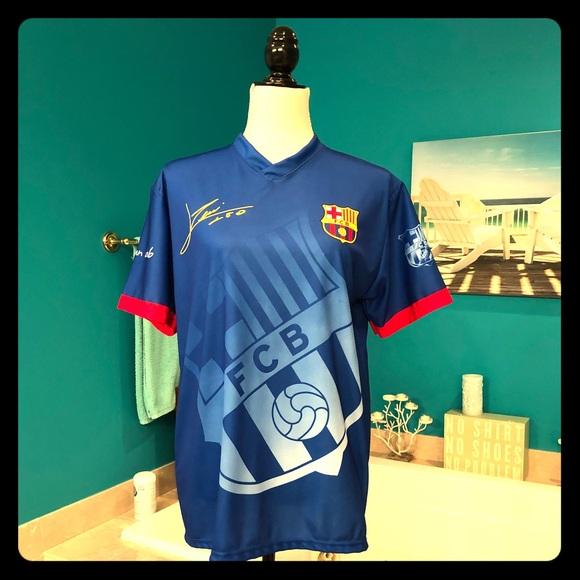 big sale b26de 66664 FIFA SALE --Men's Barcelona Messi Soccer Shirt